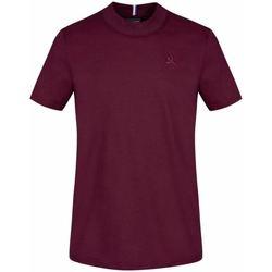 textil Herr T-shirts & Pikétröjor Le Coq Sportif T-shirt  Essential N°4 M rouge prune