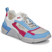 Skor Dam Sneakers Skechers BLOCK/WEST Vit / Blå / Rosa