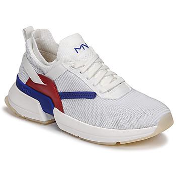 Skor Dam Sneakers Skechers SPLIT/OVERPASS Vit / Blå / Röd
