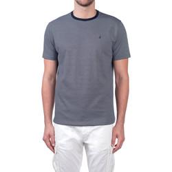 textil Herr T-shirts Navigare NV70031 Blå