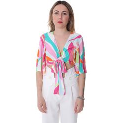 textil Dam Blusar Fracomina FR20SP519 Vit