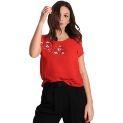 textil Dam Blusar Gaudi 811BD45011 Röd