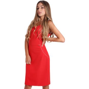textil Dam Korta klänningar Fracomina FR20SP645 Röd