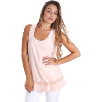 textil Dam Blusar Fracomina FR20SM014 Rosa