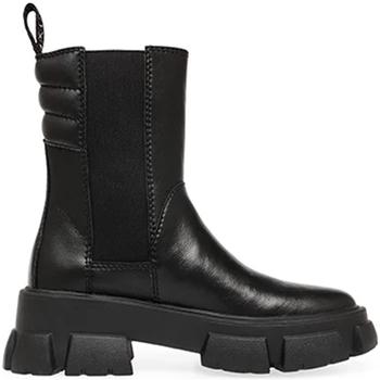 Skor Dam Boots Steve Madden SMSTRANSAM-BLK Svart