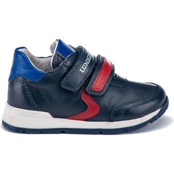 Skor Barn Sneakers Lumberjack SB65111 004 B01 Blå