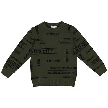 textil Barn Sweatshirts Melby 40B2032 Grön