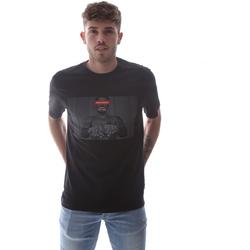 textil Herr T-shirts Sprayground 21SFW004 Svart