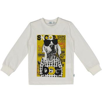 textil Barn Sweatshirts Melby 40C0062 Vit