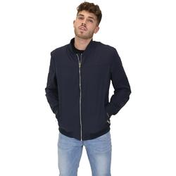 textil Herr Vindjackor Les Copains 9UB081 Blå