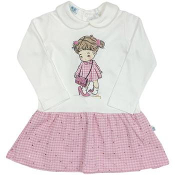 textil Flickor Korta klänningar Melby 20A0011 Vit