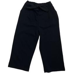 textil Flickor Chinos / Carrot jeans Losan 026-6793AL Svart