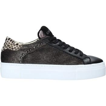 Skor Dam Sneakers Café Noir DF523 Svart