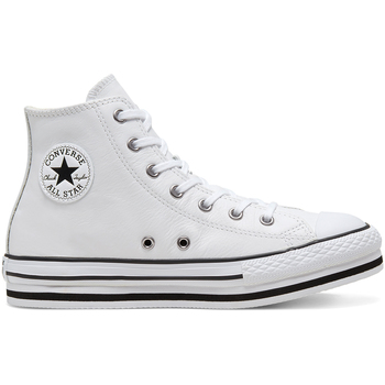 Skor Barn Höga sneakers Converse 666392C Vit