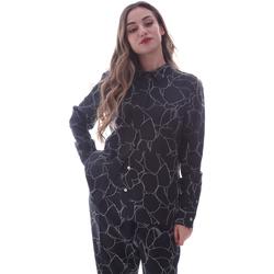 textil Dam Skjortor / Blusar Calvin Klein Jeans K20K202231 Svart