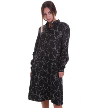 textil Dam Korta klänningar Calvin Klein Jeans K20K202227 Svart