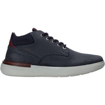 Skor Herr Sneakers Wrangler WM02035A Blå
