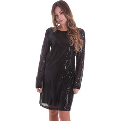 textil Dam Korta klänningar Gaudi 021FD14005 Svart