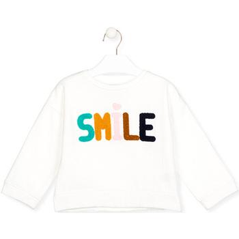 textil Barn Långärmade T-shirts Losan 026-6029AL Vit