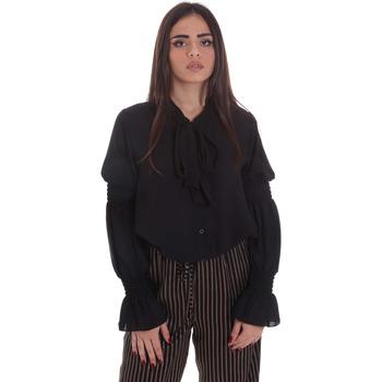textil Dam Blusar Gaudi 021BD45025 Svart