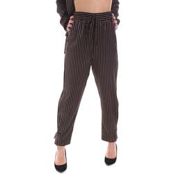 textil Dam Chinos / Carrot jeans Gaudi 021FD25017 Svart