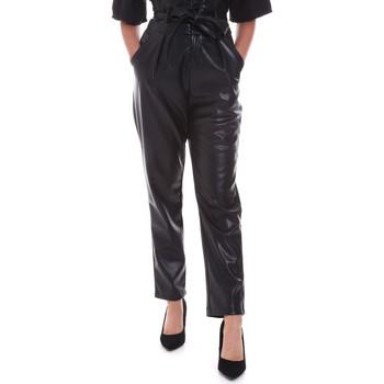 textil Dam Chinos / Carrot jeans Gaudi 021FD28001 Svart