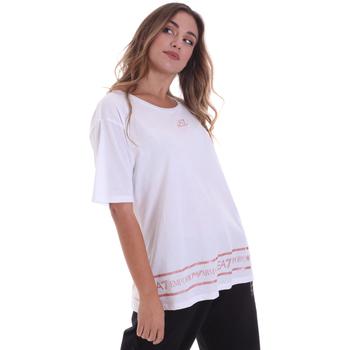 textil Dam T-shirts Ea7 Emporio Armani 6HTT32 TJ52Z Vit