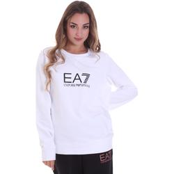 textil Dam Sweatshirts Ea7 Emporio Armani 8NTM39 TJ31Z Vit