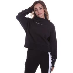 textil Dam Sweatshirts Champion 113189 Svart