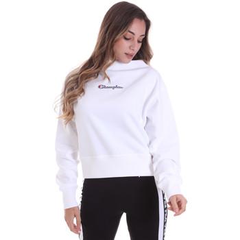 textil Dam Sweatshirts Champion 113189 Vit