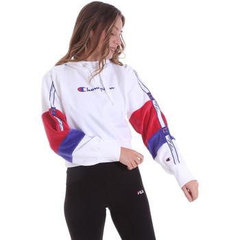 textil Dam Sweatshirts Champion 113338 Vit
