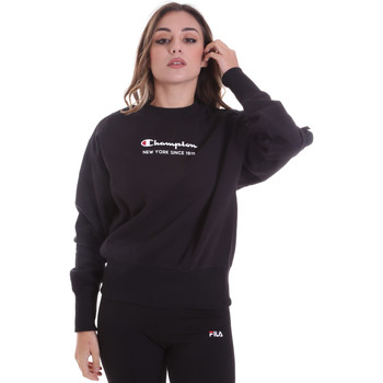 textil Dam Sweatshirts Champion 113314 Svart