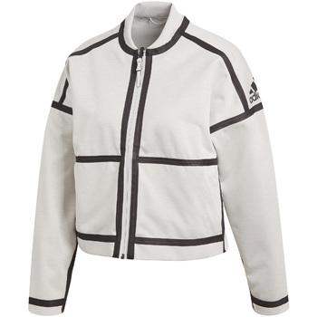 textil Dam Sweatjackets adidas Originals CF1465 Vit
