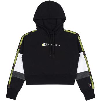 textil Dam Sweatshirts Champion 113338 Svart