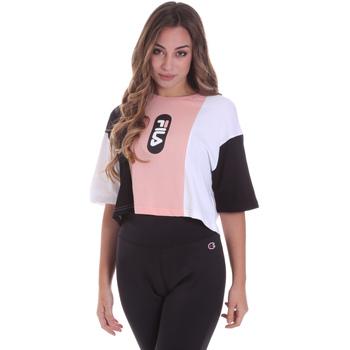 textil Dam T-shirts Fila 687943 Rosa