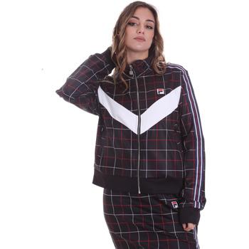 textil Dam Sweatjackets Fila 687850 Svart