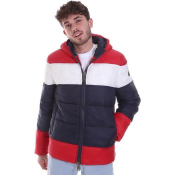 textil Herr Täckjackor Gaudi 021GU35013 Röd