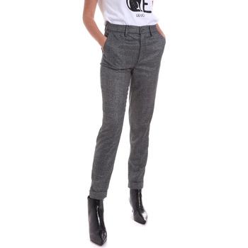 textil Dam Chinos / Carrot jeans Liu Jo WF0463 T4523 Grå