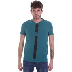 textil Herr T-shirts Gaudi 021GU64035 Grön