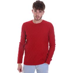 textil Herr Tröjor Gaudi 021GU53034 Röd