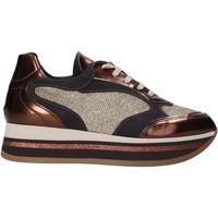 Skor Dam Sneakers Grace Shoes GLAM001 Brun