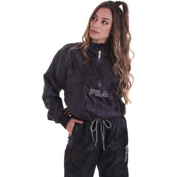 textil Dam Sweatshirts Fila 682874 Svart