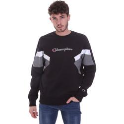 textil Herr Sweatshirts Champion 214786 Svart