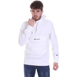 textil Herr Sweatshirts Champion 214722 Vit