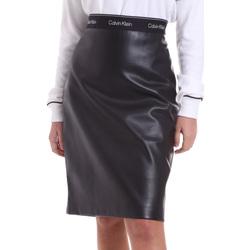 textil Dam Kjolar Calvin Klein Jeans K20K202486 Svart