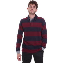textil Herr T-shirts & Pikétröjor Navigare NV30029 Röd