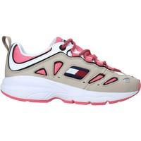 Skor Dam Sneakers Tommy Hilfiger EN0EN00935 Vit