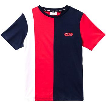 textil Barn T-shirts Fila 688008 Röd