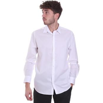 textil Herr Långärmade skjortor Sseinse CI543SS Vit