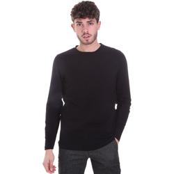 textil Herr Långärmade T-shirts Sseinse MI1691SS Svart